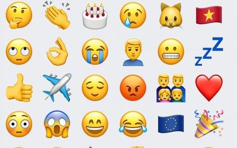 Astuce: utiliser les suggestions du clavier pour insérer un emoji