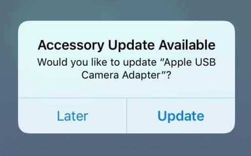 Apple met à jour le firmware de l'adaptateur Lightning vers USB 3