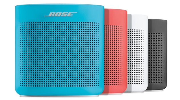 soundlink color speaker ii une petite enceinte nomade chez bose igeneration. Black Bedroom Furniture Sets. Home Design Ideas