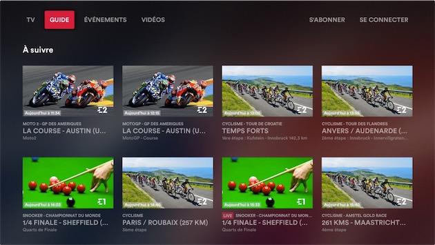 Eurosport Player marche aussi sur l'Apple TV   iGeneration