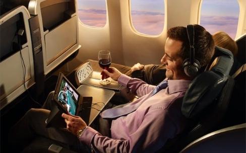 Les portables et tablettes restent autorisés dans les cabines d'Air France vers lesUSA