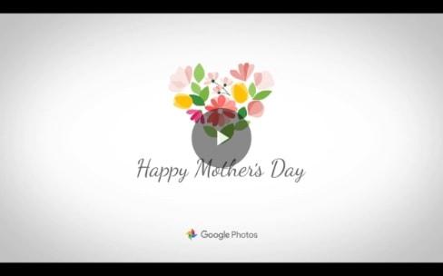 Google Photos génère un film pour les mamans