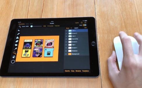 PointerKit fait marcher une souris avec un iPad