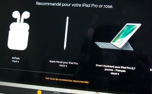 """Un mode sombre """"caché"""" dans l'app Apple Store"""