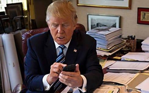 Il n'y a qu'une seule application dans l'iPhone de Donald Trump