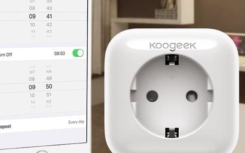 HomeKit : la prise électrique Wi-Fi de Koogeek disponible en France