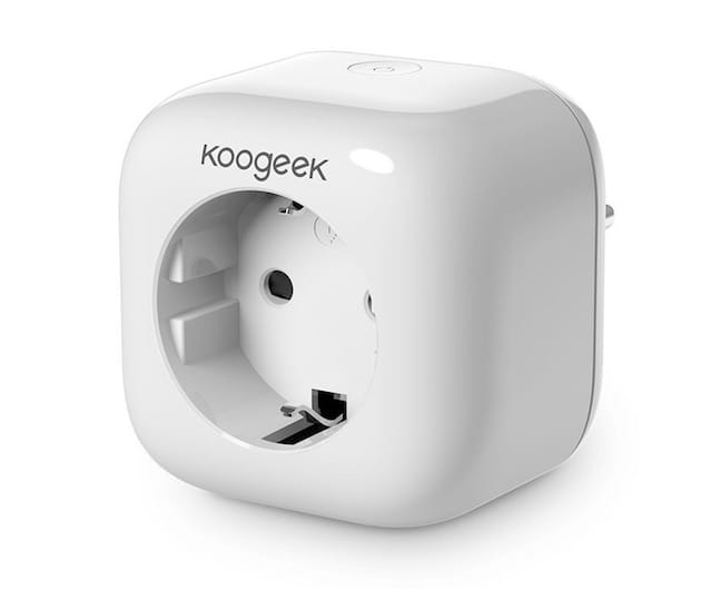 homekit la prise lectrique wi fi de koogeek disponible en france igeneration. Black Bedroom Furniture Sets. Home Design Ideas