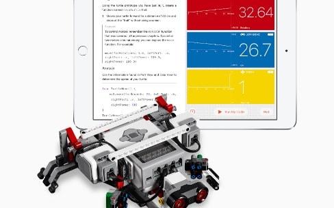 Swift Playgrounds 1.5 va contrôler des robots