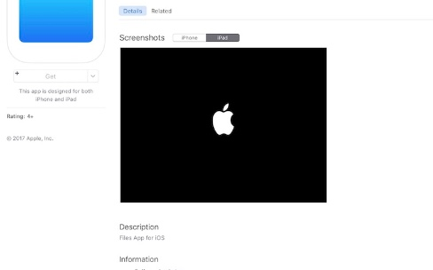 """Apple a une nouvelle app """"Files"""" pour iOS11 [màj]"""
