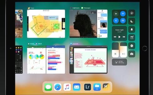 iOS 11 apporte un Dock et le glisser-déposer à l'iPad