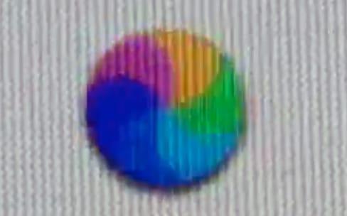 Une roue multicolore un peu différente surgit parfois sur macOS High Sierra