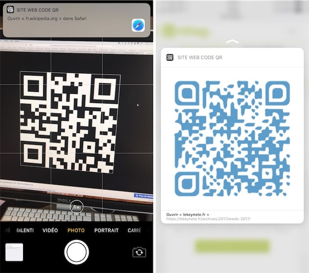 iOS 11 prend en charge les codes QR | iGeneration