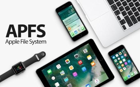 Apple a testé APFS avec iOS 10.1 et 10.2 avant de le déployer