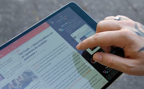 Notre premier aperçu de l'iPad Pro 10,5''