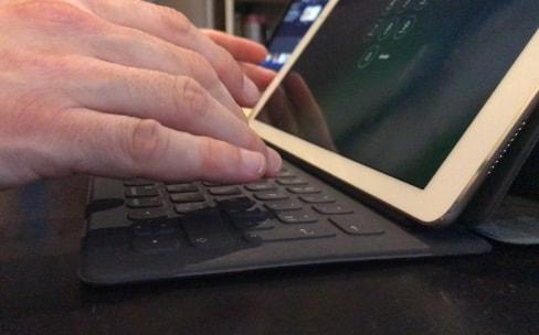 Le Smart Keyboard des iPadPro n'est pas toujours stable