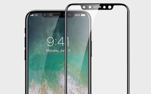 Les films de protection de l'iPhone 8 ont un petit air de bumper nouvelle génération