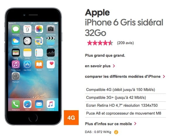 ce0a6712c02df9 N oubliez pas non plus que l opérateur low cost d Orange fait une promotion  pour son forfait 40 Go, vendu 9,99 € par mois pendant 12 mois.