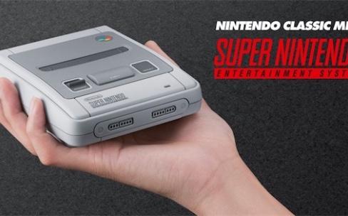 Nintendo lancera une Super NES Classic en septembre