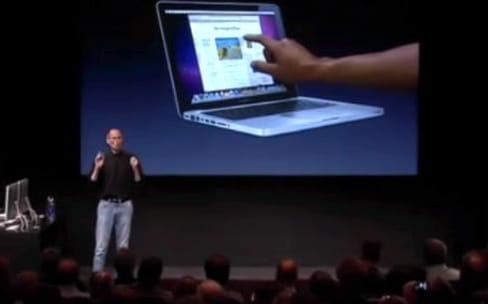 Avant l'iPhone, le projet avorté de MacBook Pro tactile