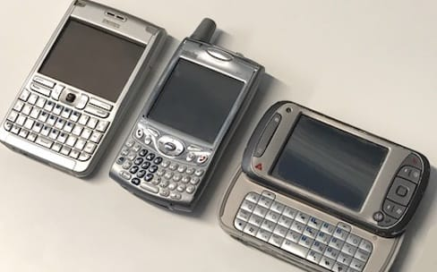 Nos téléphones avant l'iPhone
