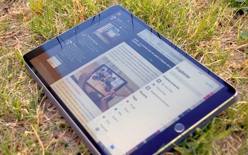 Sur iPad, iOS 11 libère les fenêtres