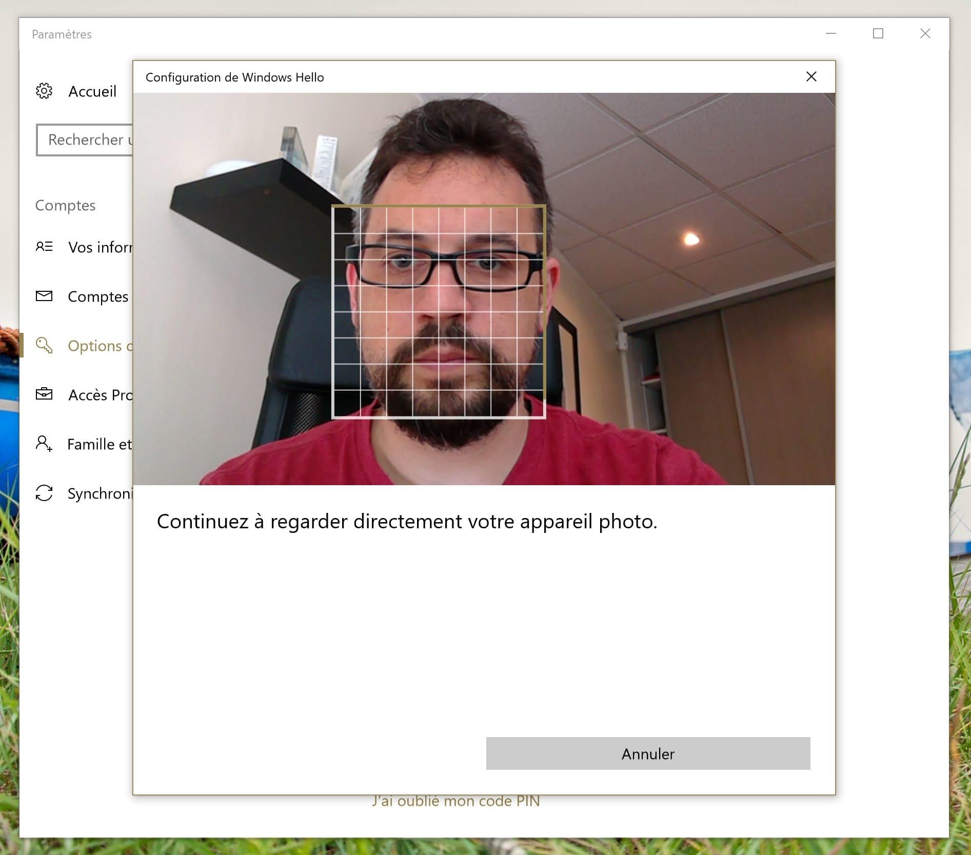 Logiciel de reconnaissance faciale pour windows