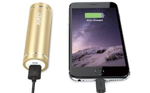Promotions: une batterie 5000mAh à 9€ et trois câbles Lightning de 3m à 13€