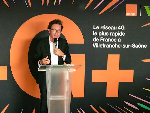 Nicolas Roy, directeur technique réseaux et services d'Orange. Image iGeneration.