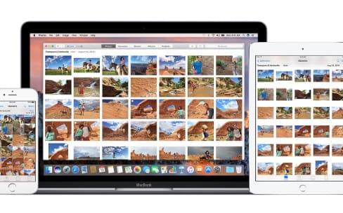 iOS 11 synchronise la photothèque iCloud en 4G