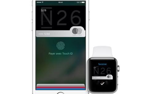 Apple Pay: N26, Lydia et la BCP compatibles d'ici la fin de l'année