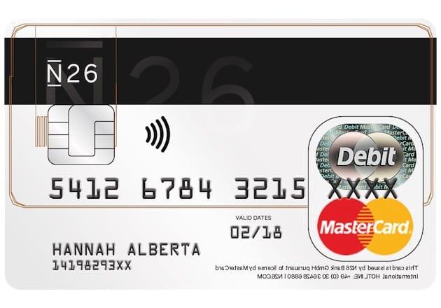 Carte Bleue Transparente.Test De N26 Une Banque Mobile Prometteuse Igeneration