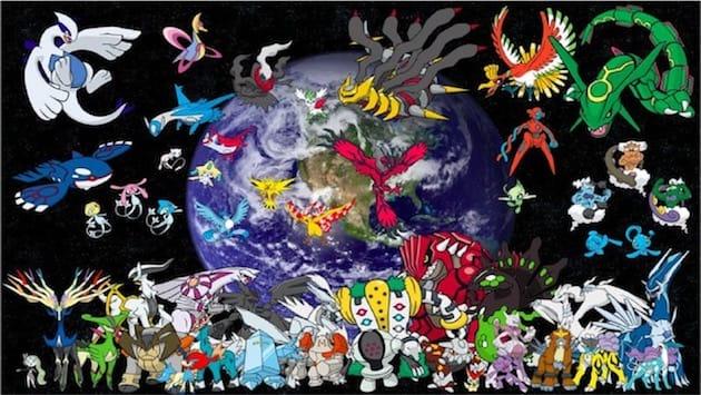 Pok mon go les pok mon l gendaires apparaitront ce week - Pokemon legendaire pokemon y ...
