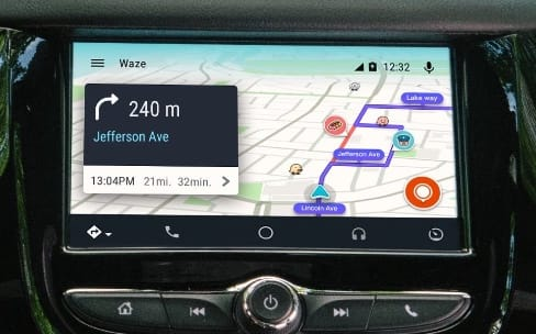 waze disponible en version finale sur android auto igeneration. Black Bedroom Furniture Sets. Home Design Ideas