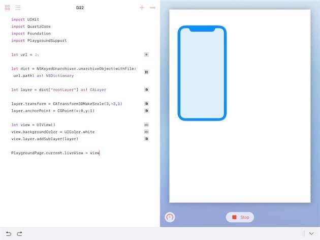 Ce dessin est la représentation du nouvel iPhone dans le firmware du HomePod. Cliquer pour agrandir
