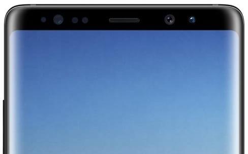 Voici le Galaxy Note8