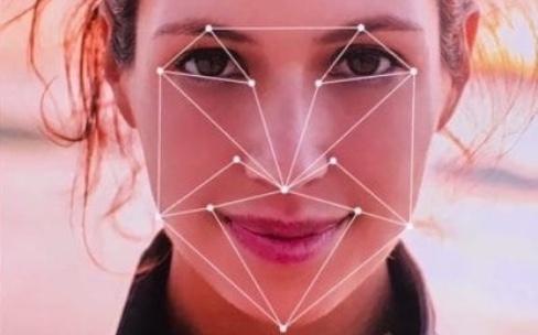 iPhone8 : une détection de visage avec l'iPhone posé à plat