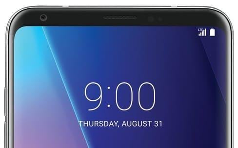 Un LG V30 joli, mais pas si original que ça
