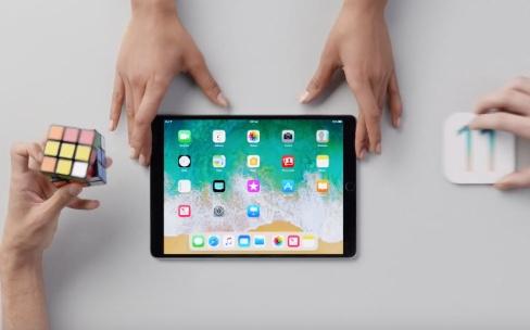 Apple lance ses premiers clips pour l'iPad avec iOS11