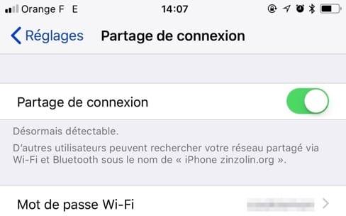 Partage de connexion: faut-il choisir l'iPhone ou l'iPad cellulaire?
