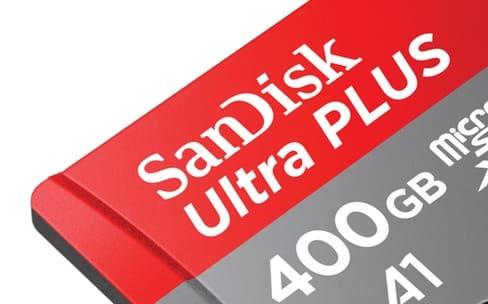 SanDisk : une petite carte microSDXC d'une grosse capacité de 400 Go