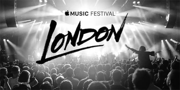 C'est en 2015 que l'iTunes Festival est devenu l'Apple Music Festival. Cliquer pour agrandir