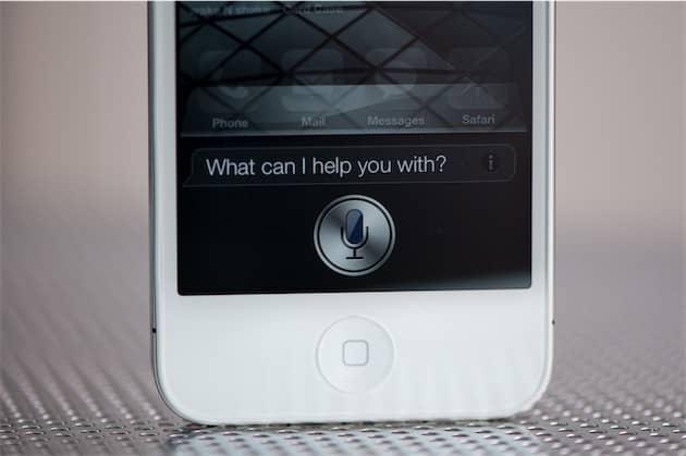 La toute première version de Siri, sur un iPhone4S. Cliquer pour agrandir
