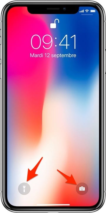 Iphone x le myst re des deux ic nes de l 39 cran for Photo ecran telephone