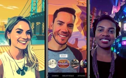 L'app Clips va tirer profit de la caméra TrueDepth de l'iPhoneX
