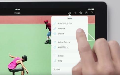 Nouvelles publicités pour l'iPad Pro sous iOS11