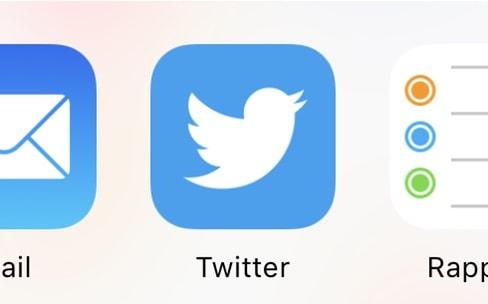 iOS11: installez Twitter pour partager sur Twitter