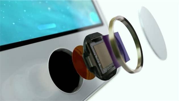 Le capteur d'empreintes est logé dans le bouton d'accueil des iPhone, ce qui rendait Touch ID largement transparent. Cliquer pour agrandir