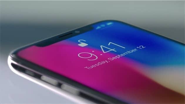 La reconnaissance faciale est la seule méthode biométrique pour déverrouiller un iPhone X. Cliquer pour agrandir