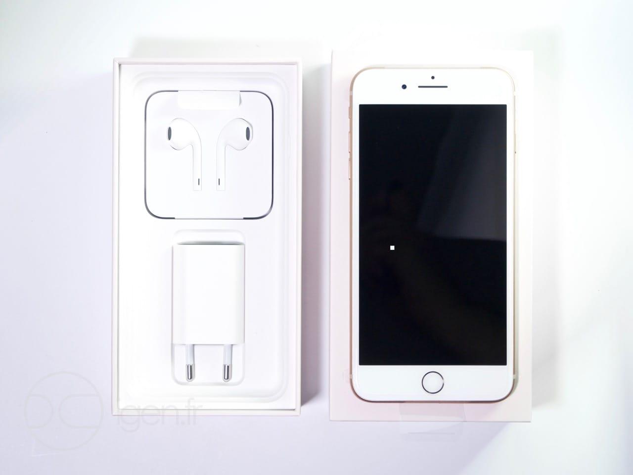 Contenu Boite Iphone