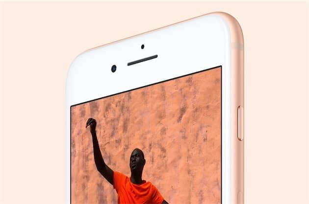 Le haut-parleur de l'iPhone8 ou de l'iPhone8Plus grésille chez certains utilisateurs. Cliquer pour agrandir
